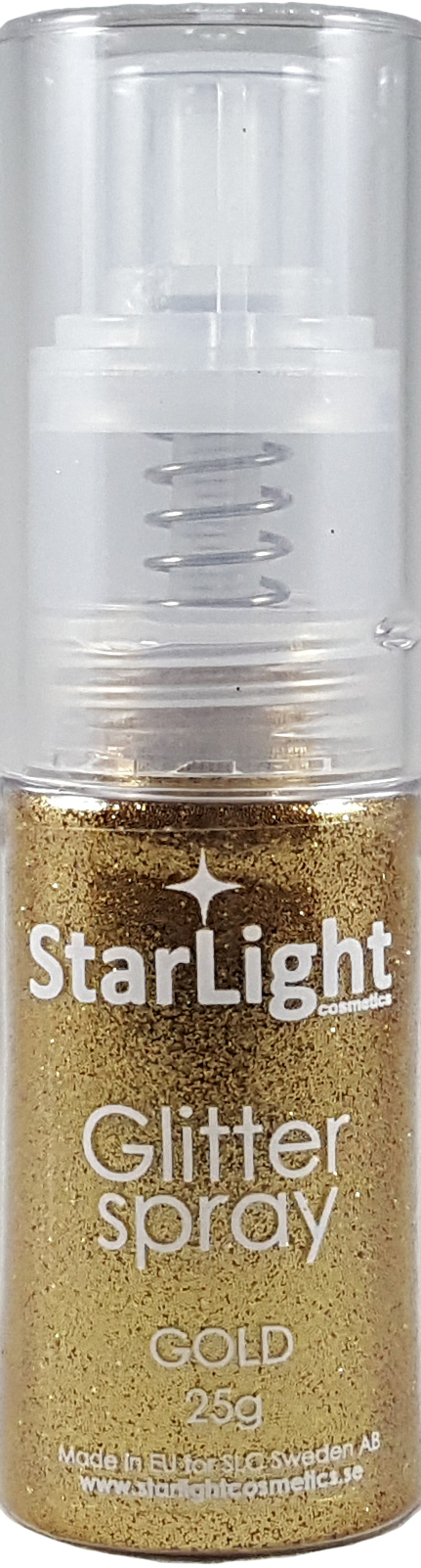 Naglar Glitter Spray Gold - 25 gram