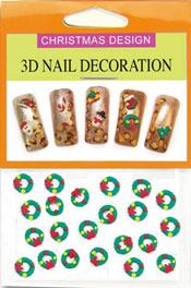 Christmas 3D Dekorationer - Julkrans