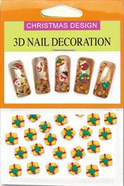 Christmas 3D Dekorationer  - Paket