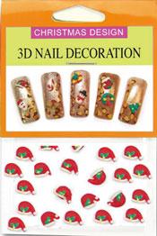 Christmas 3D Dekorationer  - Tomteluva