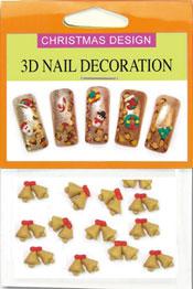 Christmas 3D Dekorationer  - Julklockor