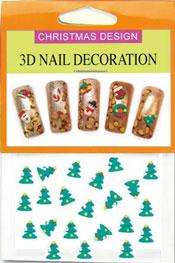 Christmas 3D Dekorationer  - Julgran