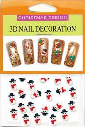 Christmas 3D Dekorationer  - Sn�gubbe