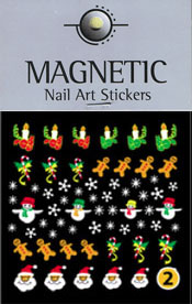 Naglar Christmas Nail Art Sticker  - 2