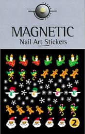 Christmas Nail Art Sticker  - 2