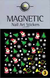 Naglar Christmas Nail Art Sticker  - 3
