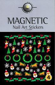 Christmas Nail Art Sticker  - 4