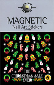 Naglar Christmas Nail Art Sticker  - 6