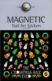 Christmas Nail Art Sticker  - 6