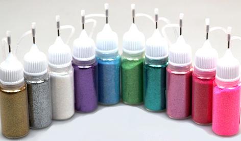 Naglar Glitter Powder i Sprayflaska