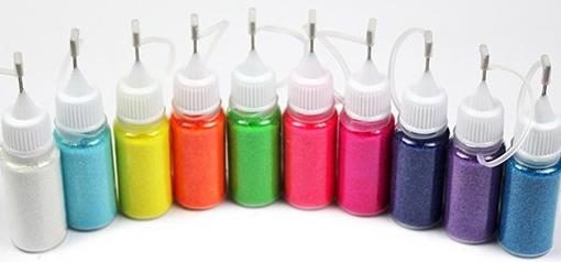 Naglar Fairy Glitter Powder i Sprayflaska